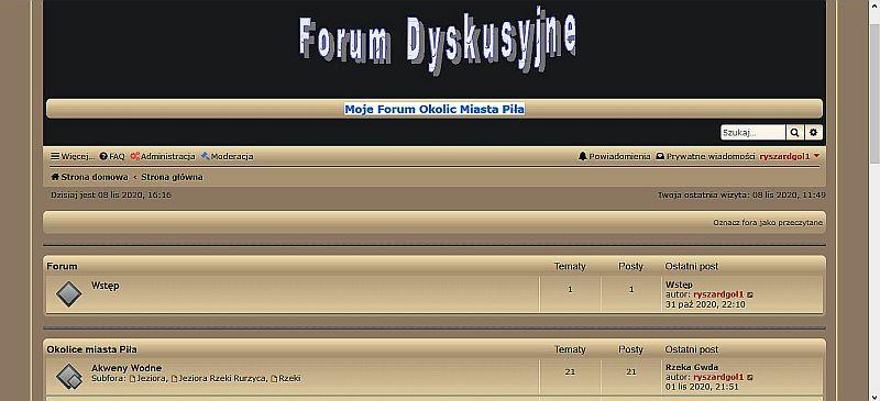 Moje Forum Okolic Miasta Piła